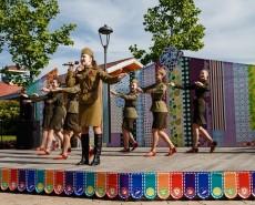Празднование 9 мая в Сочи парке